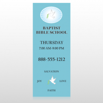 Bible Dove 162 Custom Banner