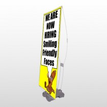 Small Business 54 Exterior Flex Banner Stand