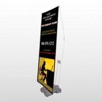 Office 149 Exterior Flex Banner Stand