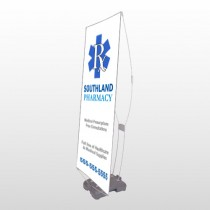 Pharmacy 103 Exterior Flex Banner Stand