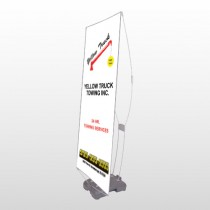Towing 125 Exterior Flex Banner Stand