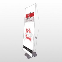 Towing 126 Exterior Flex Banner Stand