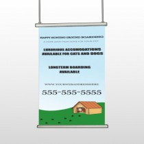 Hunting 301 Hanging Banner