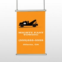 Mighty 128 Hanging Banner