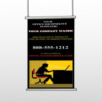 Office 149 Hanging Banner