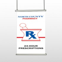 Pharmacy 101 Hanging Banner