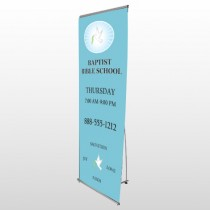 Bible Dove 162 Flex Banner Stand