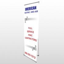 Construction 252 Flex Banner Stand