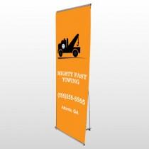 Mighty 128 Flex Banner Stand