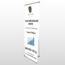 Mortgage 177 Flex Banner Stand