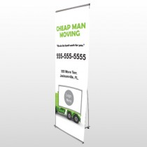 Moving 121 Flex Banner Stand