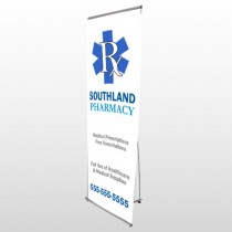 Pharmacy 103 Flex Banner Stand
