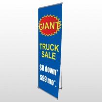 Starburst 119 Flex Banner Stand