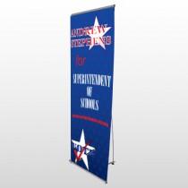 Superintendent 306 Flex Banner Stand