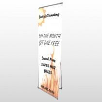 Tanning 298 Flex Banner Stand