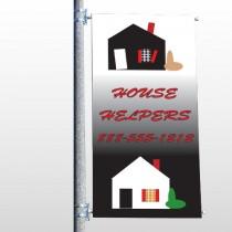 Househelper 245 Pole Banner