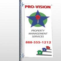 Property Management 363 Pole Banner