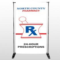 Pharmacy 101 Pocket Banner Stand