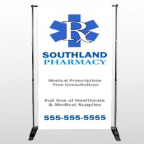Pharmacy 103 Pocket Banner Stand