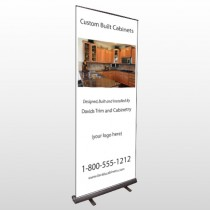 Cabinet 241 Retractable Banner Stand