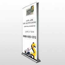 Auto Loan 173 Retractable Banner Stand