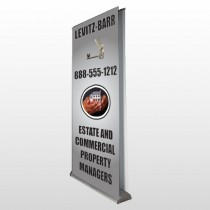 Bar 362 Retractable Banner Stand