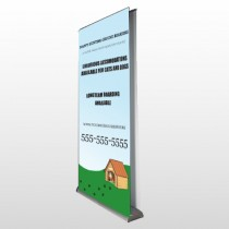 Hunting 301 Retractable Banner Stand