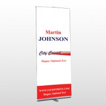 City Council 133 Retractable Banner Stand