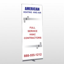 Construction 252 Retractable Banner Stand