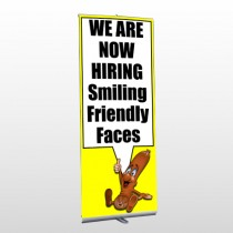 Hiring 54 Retractable Banner Stand