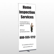 Home Inspection 360 Retractable Banner Stand