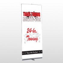 Towing 126 Retractable Banner Stand