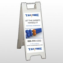 Tax Time 171 A Frame Sign