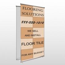 Flooring 247 Center Pole Banner Stand