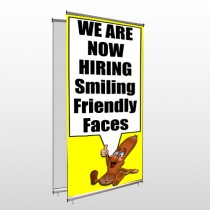 Small Business 54 Center Pole Banner Stand
