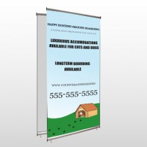 Hunting 301 Center Pole Banner Stand