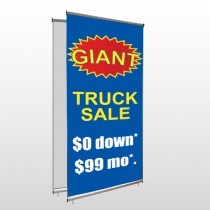 Starburst 119 Center Pole Banner Stand