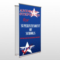 Superintendent 306 Center Pole Banner Stand