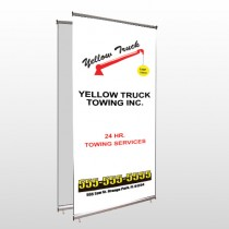 Towing 125 Center Pole Banner Stand