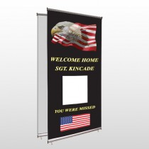 Eagle Flag 307 Center Pole Banner Stand