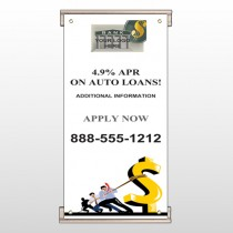 Auto Loan 173 Track Sign