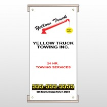 Towing 125 Track Sign