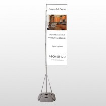 Cabinet 241 Exterior Flag Banner Stand