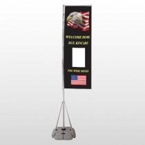 Eagle Flag 307 Exterior Flag Banner Stand