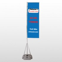 Repair 124 Exterior Flag Banner Stand
