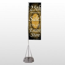Sale 55 Exterior Flag Banner Stand