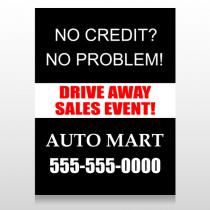 Auto Mart 114 Custom Sign