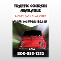 Car Traffic 153 Custom Sign