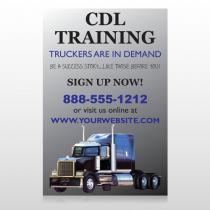 CDL Training 155 Custom Decal