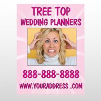 Crazy Wedding 411 Custom Sign
